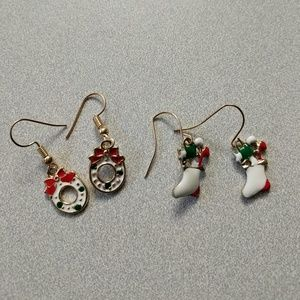 Jewelry - Holiday earring set